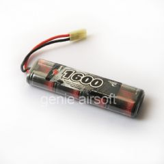 1600 mAh 9.6v Vapex Mini Type Airsoft Battery
